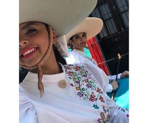 vaquera, caballo, and charra image