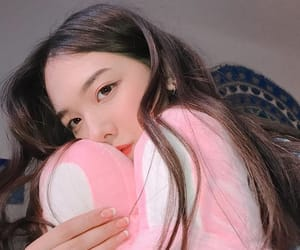 bunny, light pink, and soft image