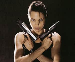 2001, Angelina Jolie, and lara croft image