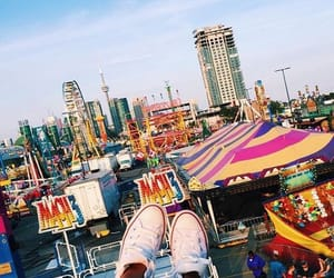 converse, amusement park, and carnival image