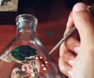art, glass, and klimt image