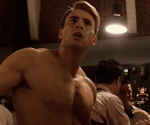 gif, chris evans, and steve rogers image