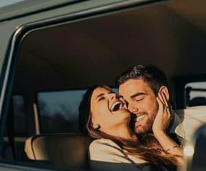 boyfriend, car, and friendship image