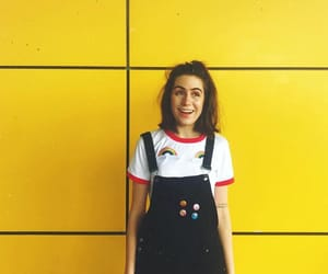 yellow, aesthetic, and dodie clark image