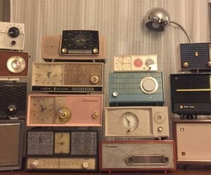vintage, radio, and music image