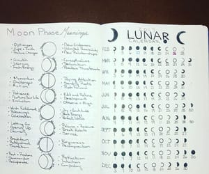 lunar and moon phases image