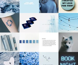 blue and Collage image