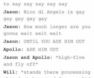 apollo, funny, and Lyrics image