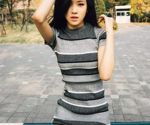 asian girl, black, and kpop image
