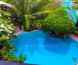 blue, escape, and swimming pool image