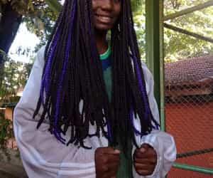 Afro, brasileira, and garota image