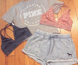 girls, outfit, and pink image