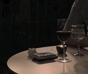 black, indie, and wine image