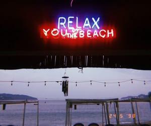 beach, esthetics, and blue image