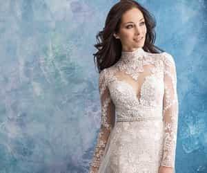 beautiful, wedding dresses, and weddings image