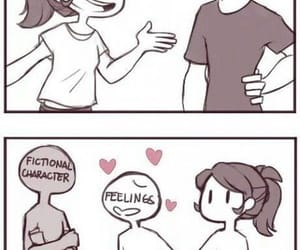 love, book, and fictional characters image