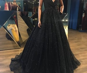 black and dress image