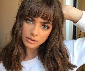 article, cabelo, and hair bangs image