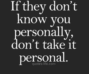 quotes, personal, and life image