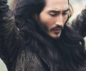 asian, beard, and fancy image