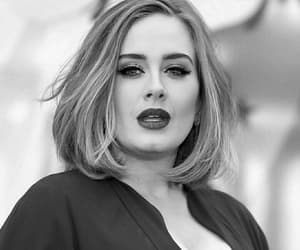 Adele, girl, and singer image