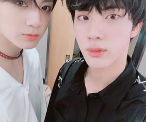 jin, kpop, and selca image