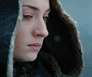 game of thrones, gif, and sansa stark image