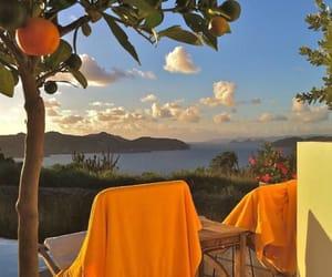 orange, summer, and aesthetic image