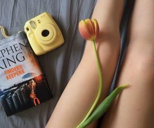book, camera, and june image