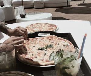 pizza and fresh taste image