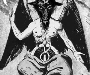 Baphomet and satan image