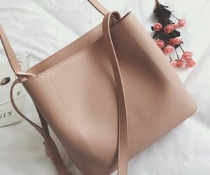 bag, Nude, and beige image