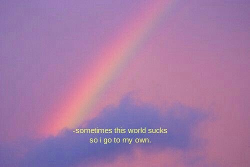 quote, rainbow, and shopping image