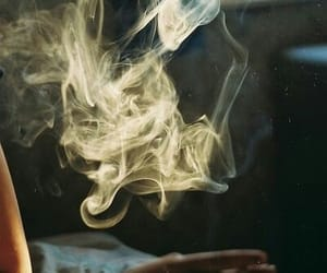 smoke, photography, and cigarette image