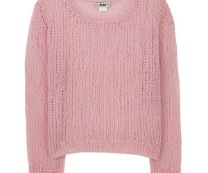 acne, pink, and sweater image