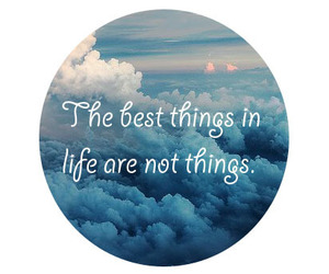life, quote, and sky image