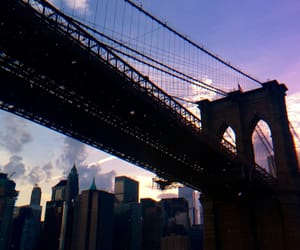 aesthetic, bridge, and new york image