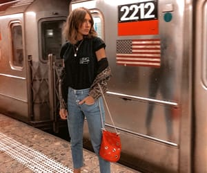 fashion, nyc, and outfit image