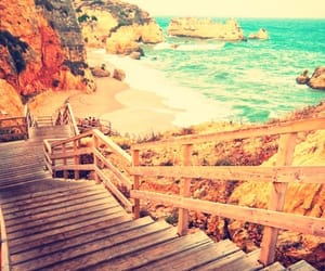 landscape, travel, and beach image