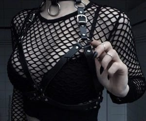 goth, aesthetic, and dark image