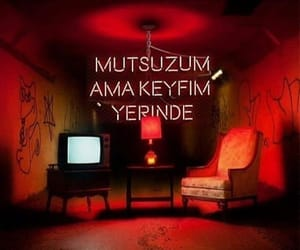 cool, türkçe, and red image