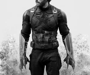 Marvel, infinity war, and captain america image