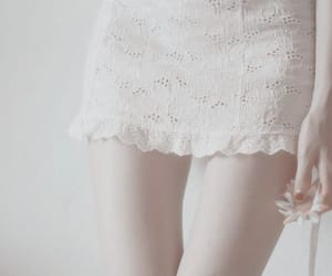 dress, model, and pale image