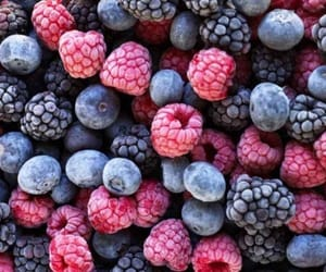 berries, yummy, and food image