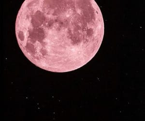 pink and pink moon image