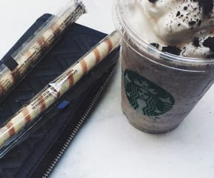 candy, coffee, and starbucks image