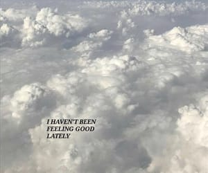 quotes, aesthetic, and clouds image