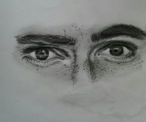 alternative, eyes, and pencil image