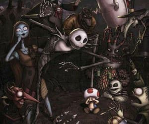 jack skellington, tim burton, and jack image