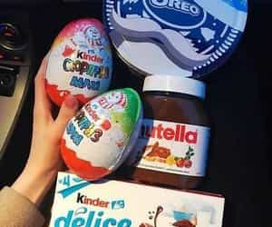 kinder, chocolate, and nutella image
